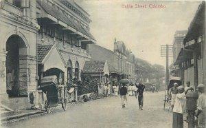 Ceylon Postcard Colombo Baille Street