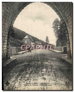 Postcard Old Cantal Lioran Tunnel Exit Riviera Lioran