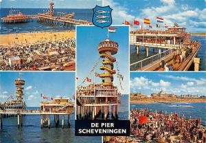 Netherlands De Pier Scheveningen, Strand Seebruecke Beach Sea Bridge Promenade