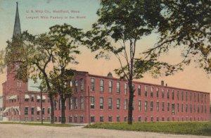 WESTFIELD , Massachusetts , 1909 ; U.S. Whip Company