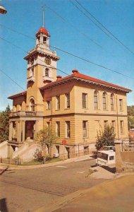 TUOLUMNE COUNTY COURT HOUSE Sonora, CA c1960s Vintage Postcard