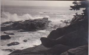 Maine Chamberlain Long Cove 1942 Real Photo