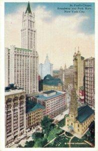New York City Postcard Lot of 9 Park Row Columbia University Post Office  01.17