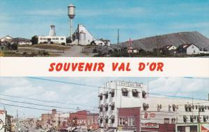 Business Section, Sullivan's Mine, VAL D'OR, Quebec, Canada, 40-60´