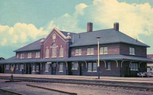 Canada - ON, Cochrane. Railway Station