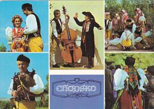 Czech Republic Chodsko Multi View Local Costumes