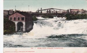 Upper Falls, SPOKANE, Washington, PU-1911