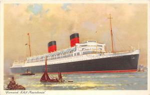 6018 R.M.S. Mauretania, Cunard Line