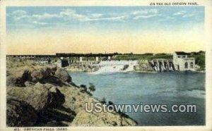 Old Oregon Trail - American Falls, Idaho ID