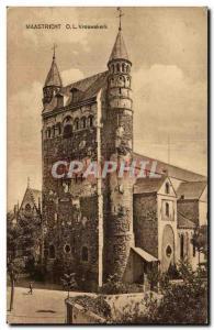 Old Postcard Maastricht O L Vrouwekerk