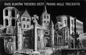 Ante Romam Treveris Stetit Annis Mille Trecentis Brunnen Fountain Trier