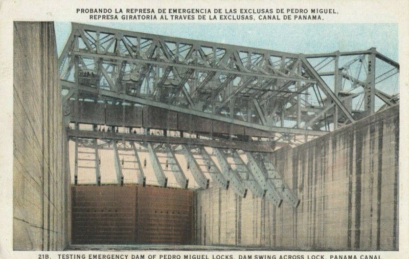 Pedro Miguel Locks, PANAMA, 1900-10s ; Canal