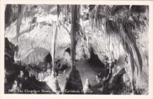 New Mexico The Chapel Or Dome Room Carlsbad Caverns National Park Real Photo