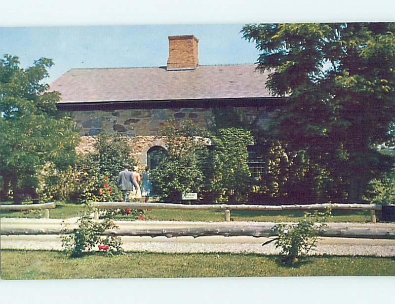 Unused Pre-1980 MUSEUM SCENE Shelburne Vermont VT hs9491