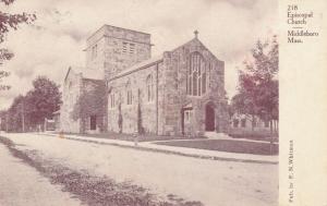 Episcopal Church at Middleboro MA, Massachusetts - UDB