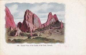 General view of the Garden of the Gods, Colorado,00-10s