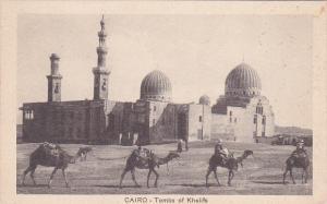 CAIRO - Tombs of Khalifs , EGYPT , 1910s