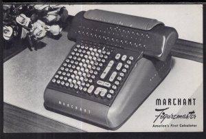 Merchant Fingeruemaster,Calculator Advertising
