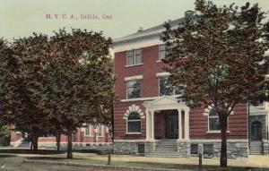 ORILLIA , Ontario, Canada, PU-1912 ; M. Y. C. A.