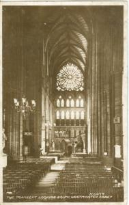The Transept looking south, Westminster Abbey, 1920s-1930s