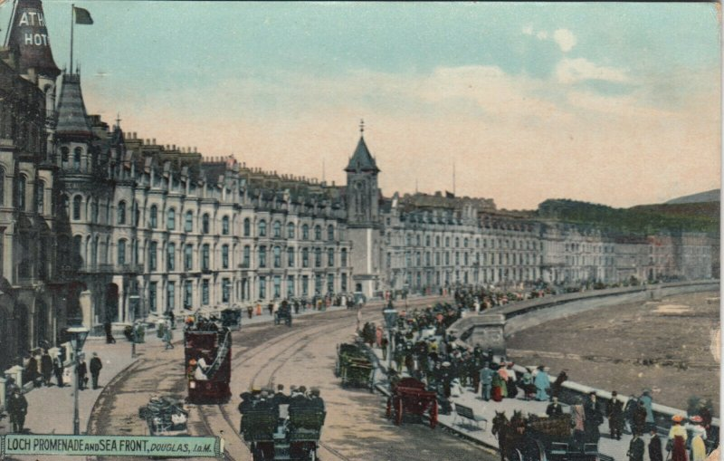 DOUGLAS, Isle of Man, 1909; Loch Promenade and Seaside, TUCK # 2020