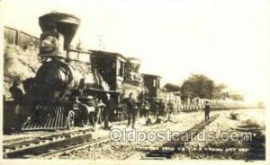 Comstock One Train V & T R R Virginia City, NV, Nevada, USA Train Railroad St...