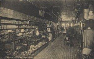 L.T. Whitney & Co.Oberlin, Ohio, USA Store Interior Unused light crease on ve...