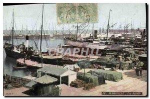 Old Postcard Marseille Joliette