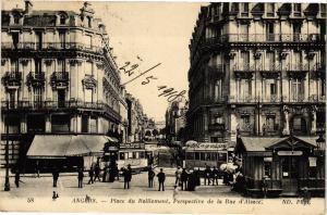 CPA ANGERS-Place de Ralliement-Perspective de la Rue d'Alsace (189615)