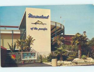Unused Pre-1980 MARINELAND Palos Verdes - Los Angeles California CA hn2957