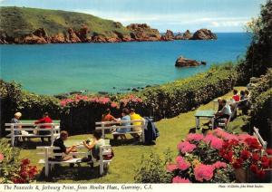 C.I. Guernsey, The Peastacks & Jerbourg Point, from Moulin Huet