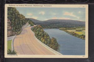 Highway Up Lookout Mountain,Chattanooga,TN Postcard