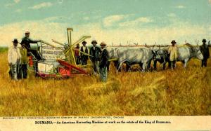 Advertising - International Harvester Co. In use in Roumania