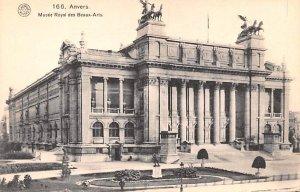 Musee Royal des Beaux Arts Anvers Belgium Unused
