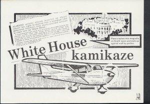 Headline Postcard - Kamikaze Pilot, Frank Corder at The White House RR2650
