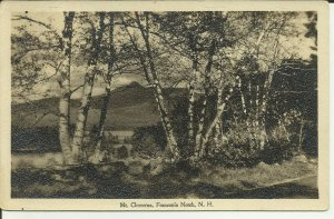 Mt. Chocorua, Franconia Notch, N.H.