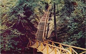 Stairs in Victoria Park Truro Nova Scotia NS Canada