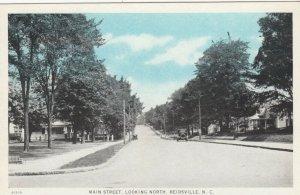 REIDSVILLE , North Carolina , 1910s ; Main Street , North