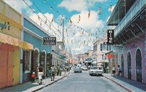 Virgin Islands Charlotte Amalie Main Street 1966 sk4090