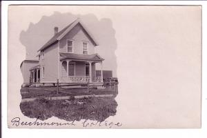 Real Photo, Beechmount Cottage, Ontario, Quebec?