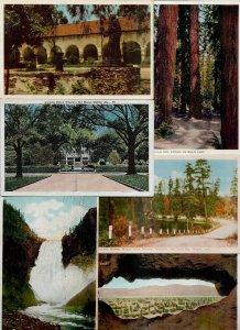 USA - Ontario Arizona Florida and more Postcard Lot of 76 01.06