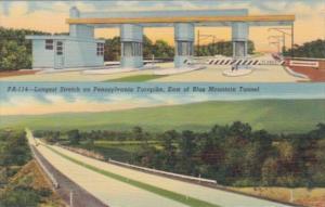 Pennsylvania Turnpike Longest Stretch & Toll Gate Near Carlisle & Harrisburg ...
