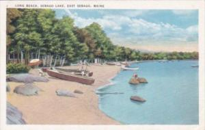 Maine East Sebago Long Beach Sebago Lake 1938