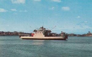 SAULT STE. MARIE, Ontario, Canada, 1940-60s; Passenger & Car Ferry