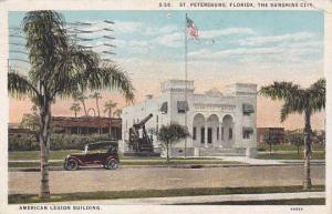 Florida Saint Petersburg American Legion Building 1927