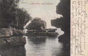 Michigan Lake Superior Anvil Rock 1907