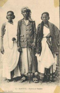Africa Djibouti Homme et Femmes 04.41