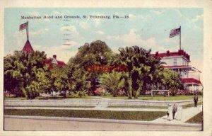 MANHATTAN HOTEL AND GROUNDS, ST. PETERSBURG, FL 1923