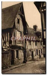 Old Postcard Old Bernay Sources Street