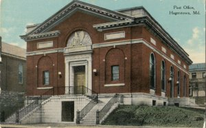 HAGERSTOWN , Maryland , 1900-10s ; Post Office